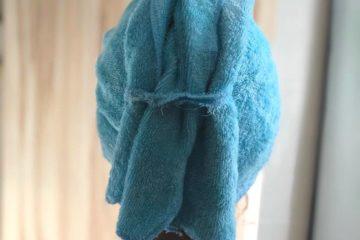 Serviette à cheveux ultra-absorbante