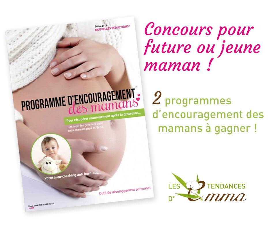 Concours programme d'encouragement des mamans