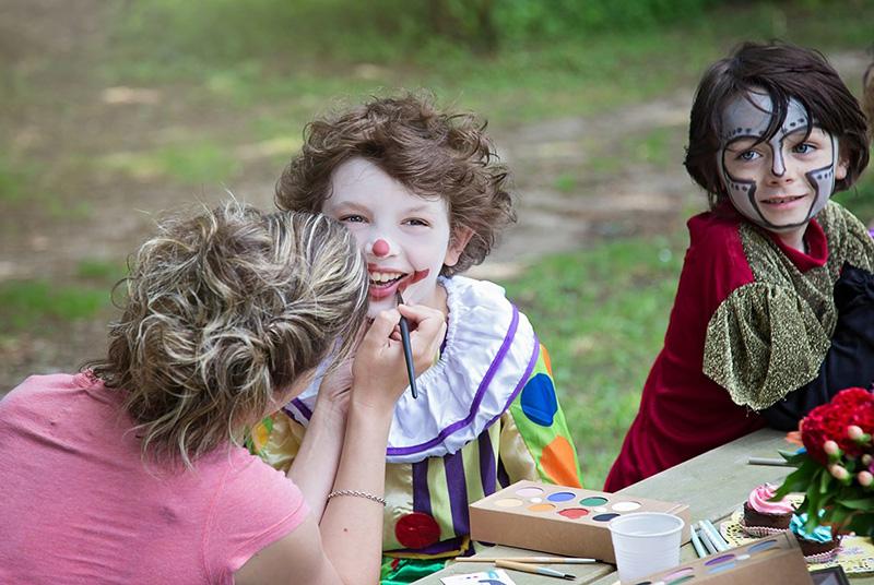 Atelier maquillage pour enfants par Namaki