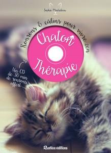 Livre Chaton Therapie - Rustica Editions