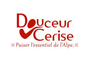 Logo de la marque Douceur Cerise (phytothérapie, gemmothérapie, nutrithérapie et cosmétique)