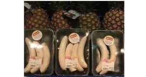 banane pelée suremballée