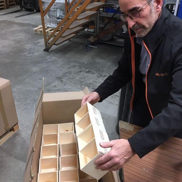 Notre boîte en bois made in France à retrouver dans les Kits Eco Belle, Eco Chou et Eco Net !