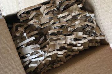 Réduire les déchets en carton ?! Notre broyeuse à carton !!
