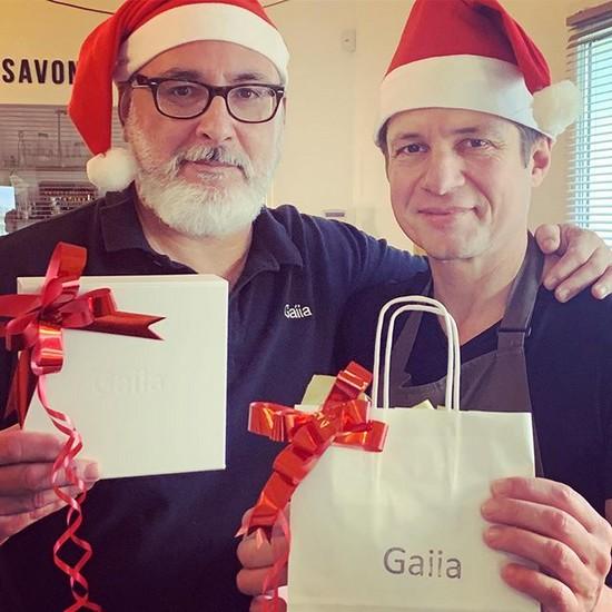 Les idées cadeaux zéro déchet des Maîtres Savonniers de Gaiia en Père Noël !