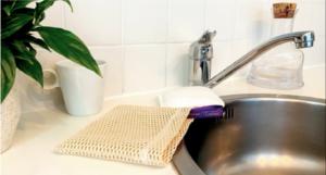 Eponge lavable vaisselle