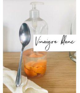 Vinaigre blanc agrume